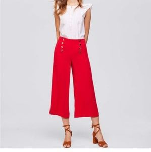 LOFT Fluid Wide Leg Sailor Pant